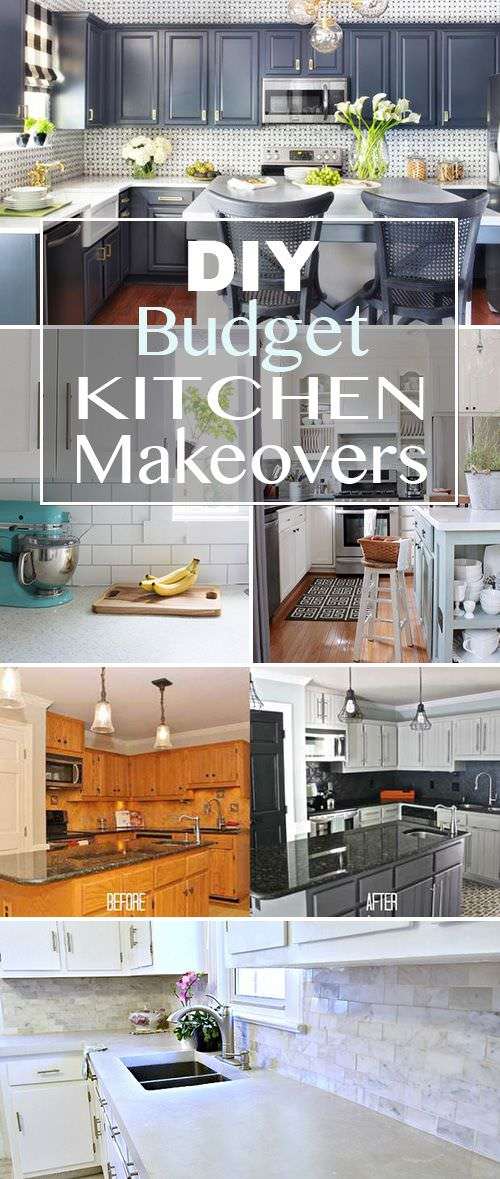 Budget kitchen makeovers