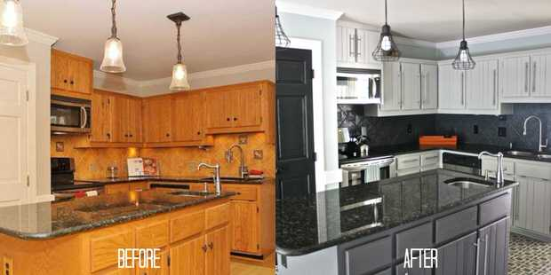 Delightful DIY Budget Kitchen Makeovers 1 1