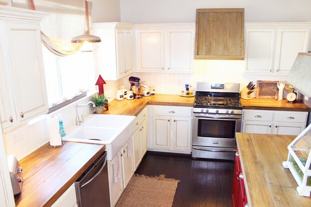 DIY Budget Kitchen Makeovers - One Project at a Time • The Budget ...