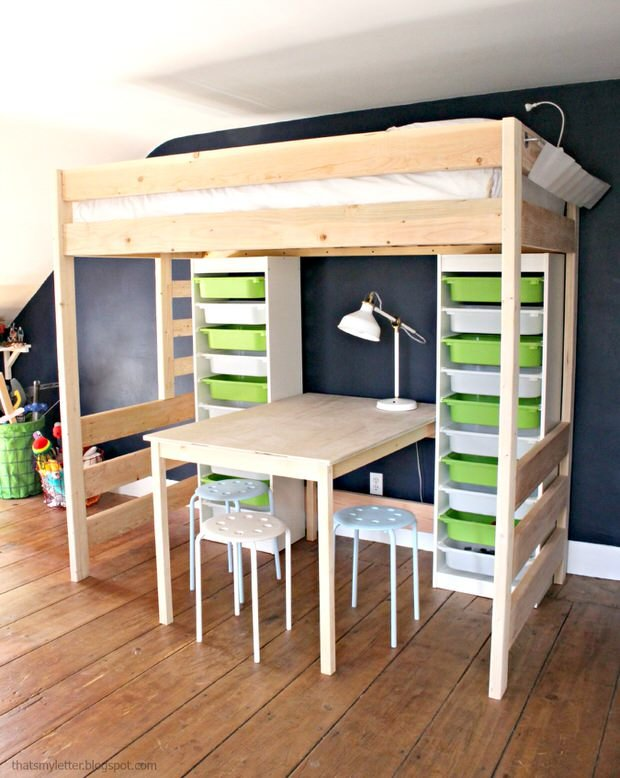 & DIY Storage Bed Projects u2022 The Budget Decorator