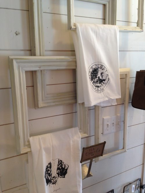 10 clever diy towel racks the budget decorator - How to display towels in bathroom ...