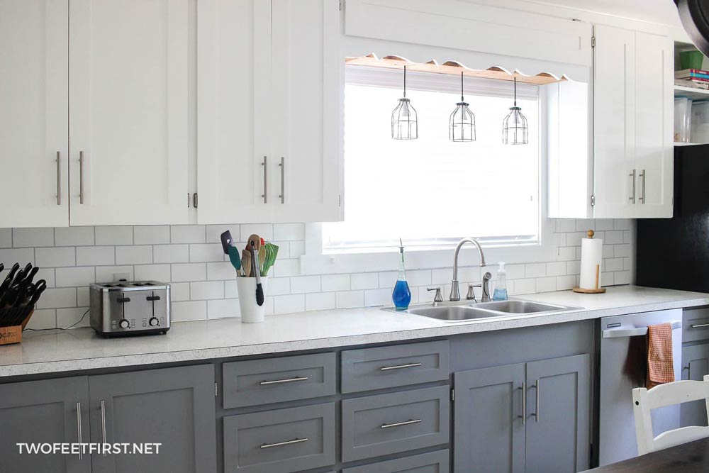 15 Kitchen Backsplash Ideas That Go Right Over Old Tile The Budget Decorator
