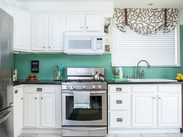 15 Kitchen Backsplash Ideas That Go Right Over Old Tile The