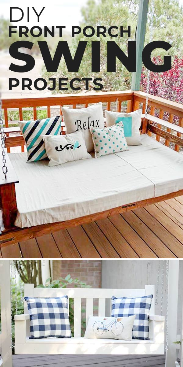 DIY Front Porch Swing Projects