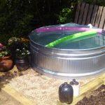 Wanna Stay Cool? DIY A Stock Tank Pool!