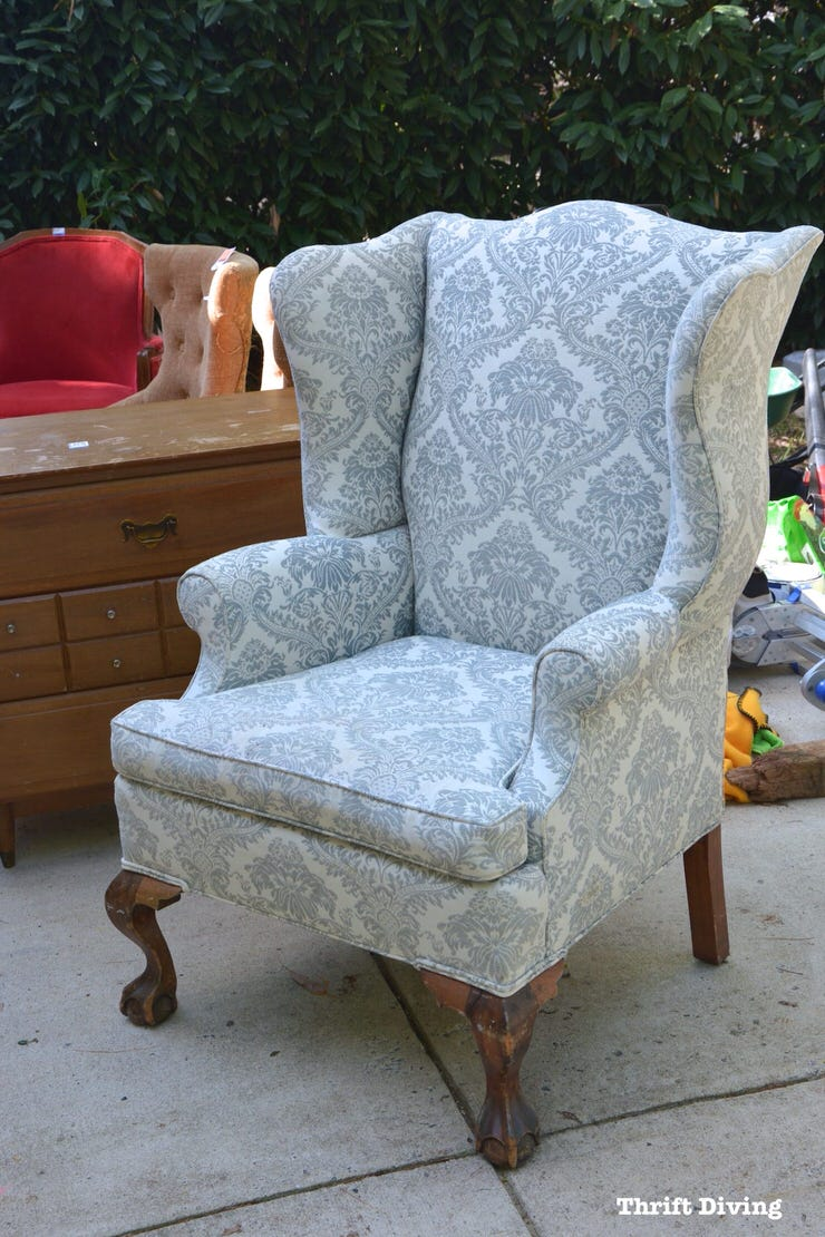 Fine How To Reupholster A Chair The Budget Decorator Download Free Architecture Designs Scobabritishbridgeorg