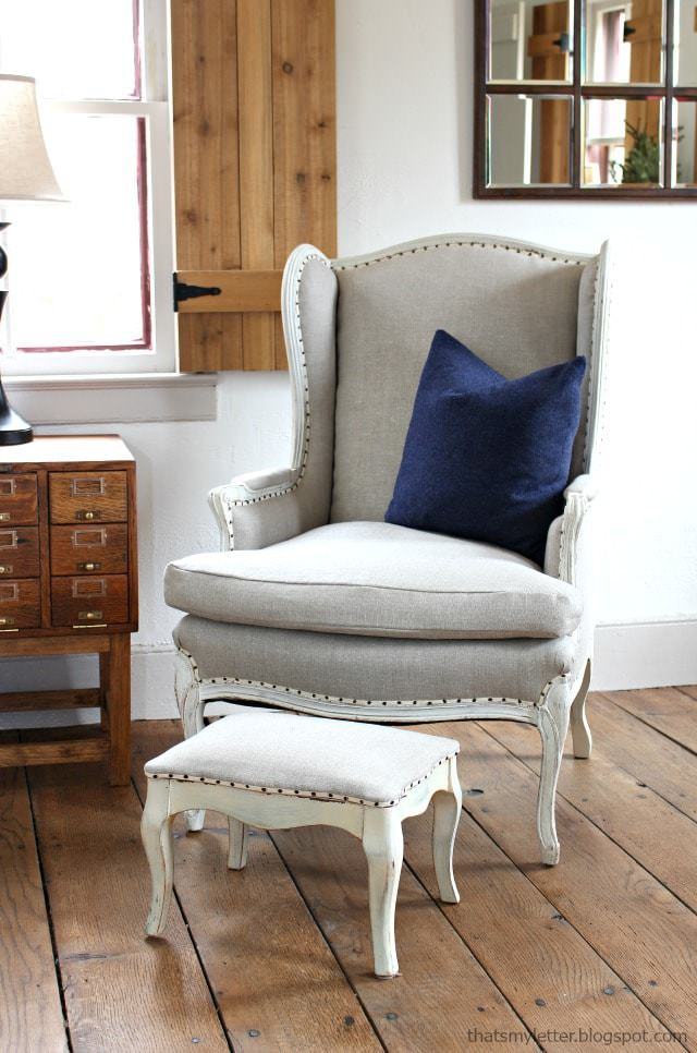 How To Reupholster >> How To Reupholster A Chair The Budget Decorator