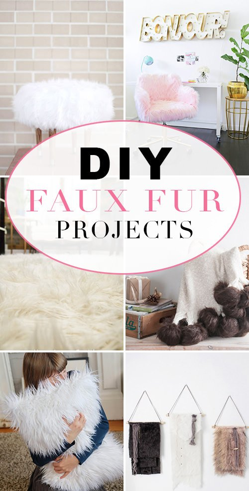 DIY Faux Fur Projects