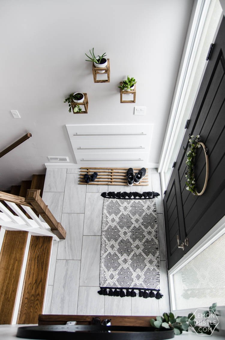 Foyer Diy Nz : Chic stylish entryway makeovers the budget decorator