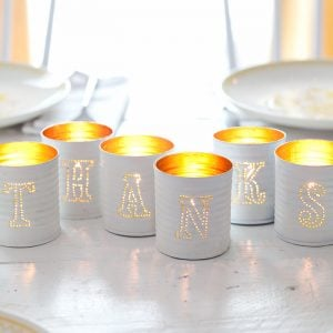 13 Classy DIY Tin Can Decor Projects