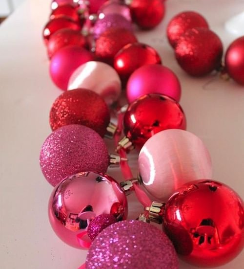 Dollar Store Christmas Ornament Crafts