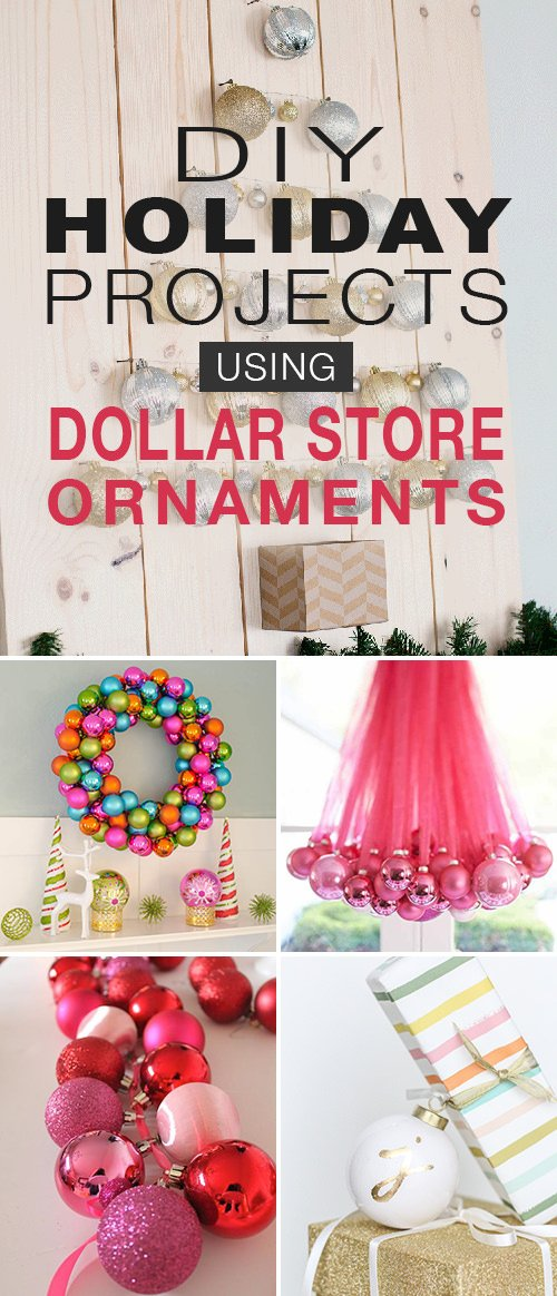 Elegant Handmade Christmas Ornaments.Diy Christmas Decorations Holiday Projects With Dollar
