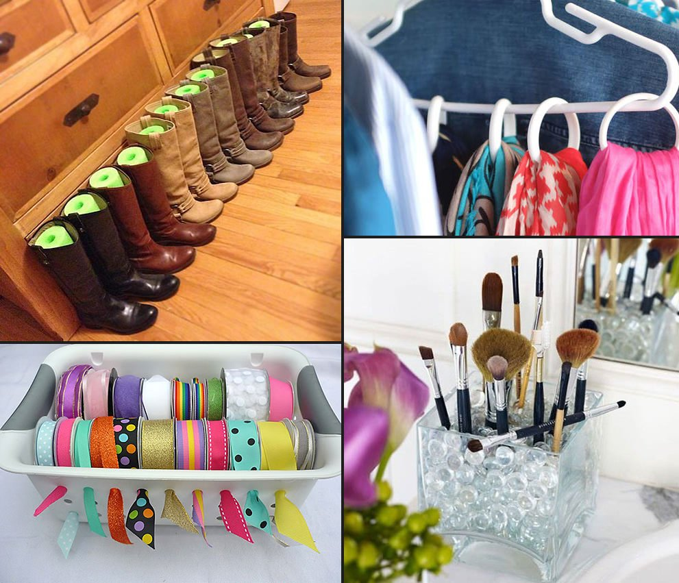 Dollar store organizing ideas updated the budget decorator - Home organizing tips ...