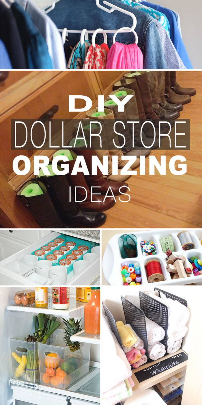dollar store organizing ideas (updated) • the budget decorator
