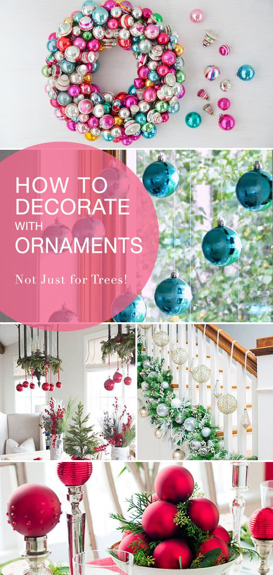 Christmas Decorating Ideas : How to Decorate with Ornaments ...