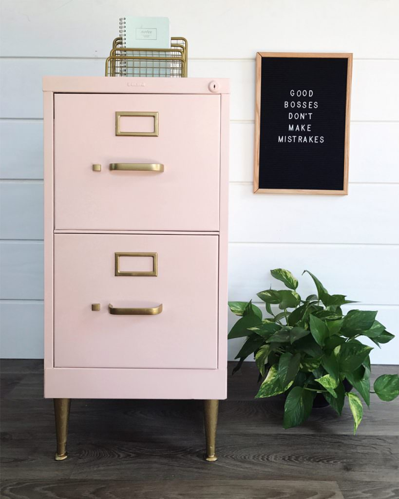 12 Fabulous Filing Cabinet Makeovers