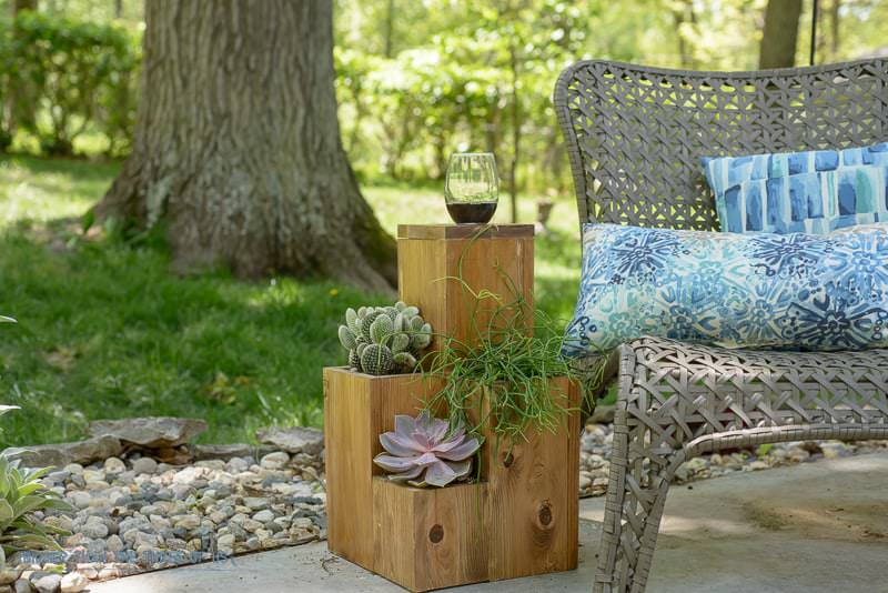 Scott at 'Saws on Skates' has this really cute DIY patio planter cabinet  tutorial we had to include here! First, we were thinking, why put plants in  a ... - 12 DIY Backyard Ideas For Patios, Porches And Decks • The Budget