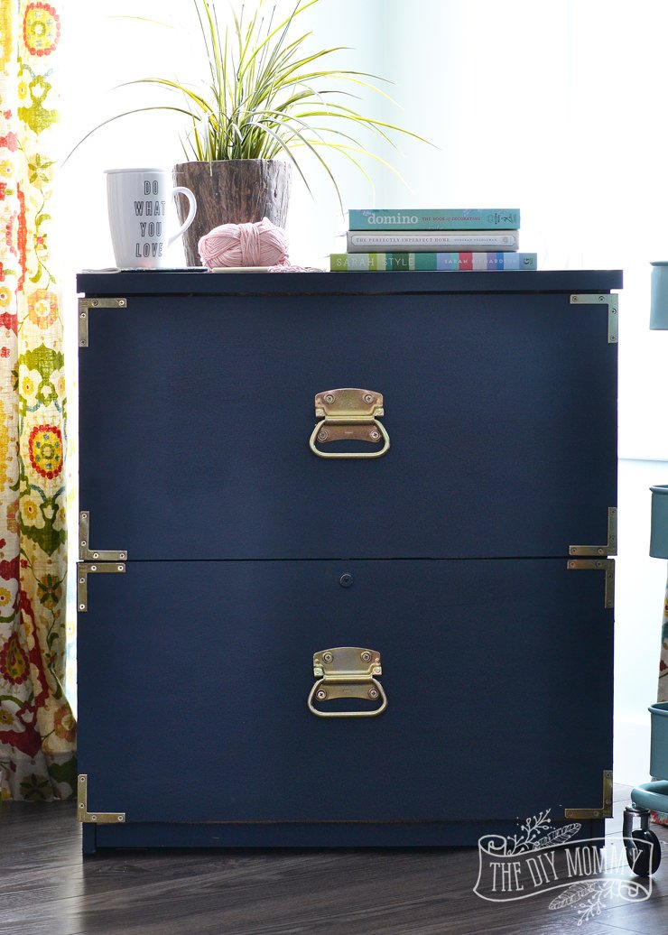 (Did you know you donu0027t have to prime when you use chalk paint?) This piece looks like a high end dresser not a file cabinet makeover! & 12 Fabulous Filing Cabinet Makeovers u2022 The Budget Decorator