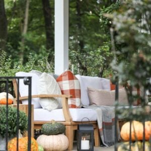 Fall Front Porch Ideas (On a Budget!)