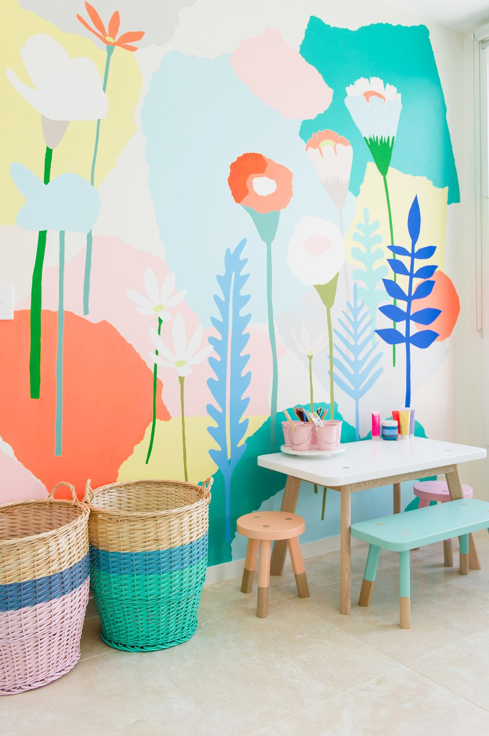 How to Paint Wall Murals for Kids - 9 Easy DIY Projects • The ...