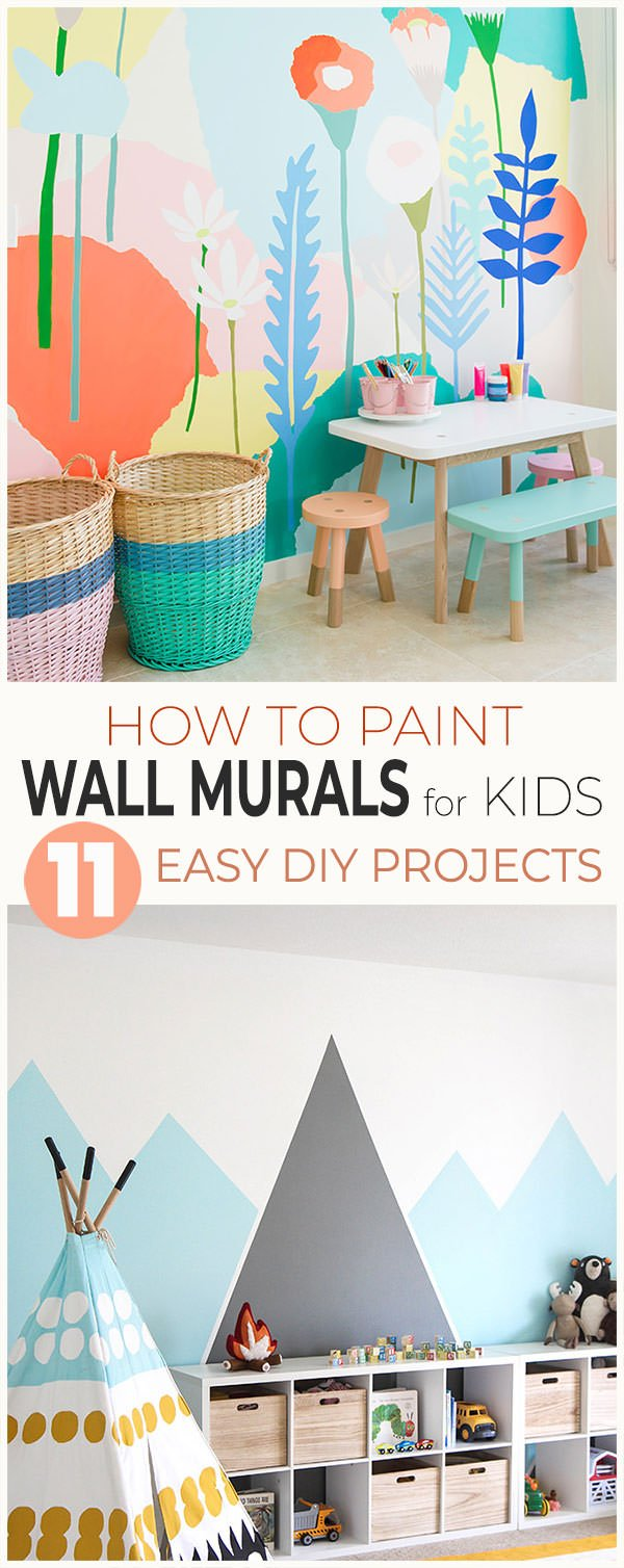 How to Paint Wall Murals for Kids