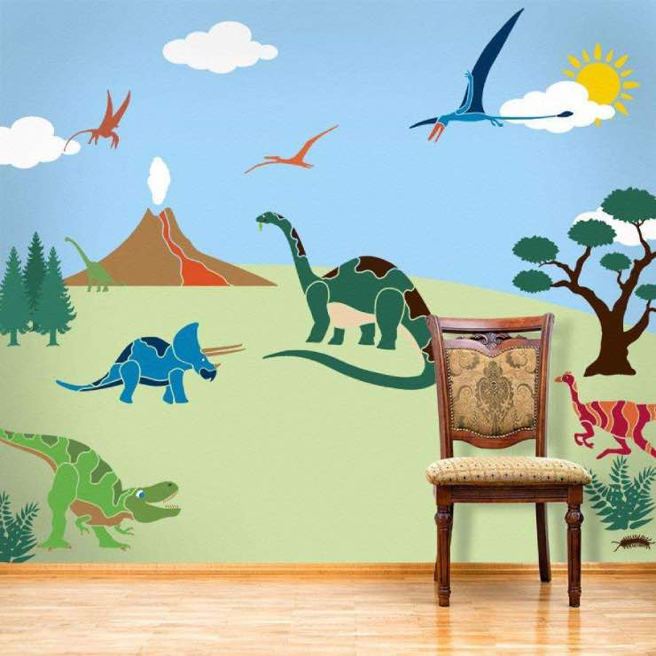 DIY Wall Mural Ideas for Kids