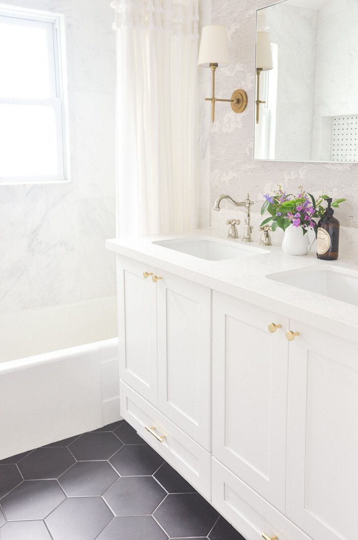 Pretty Fresh Bathroom Ideas Updates The Budget Decorator