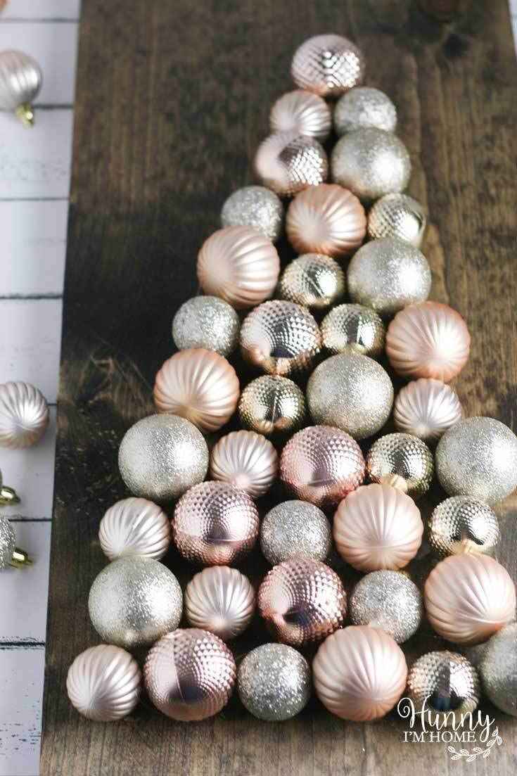 11 Easy Diy Dollar Store Christmas Decorations The Budget Decorator