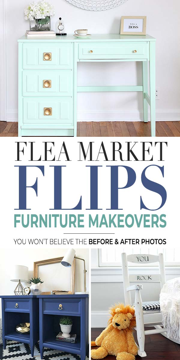 Gorgeous Flea Market Flips : Before and After Furniture Makeovers