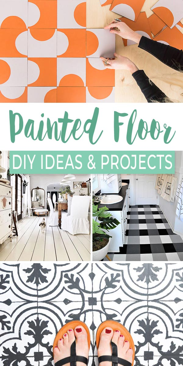We Re Floored Painted Floor Ideas Projects The Budget
