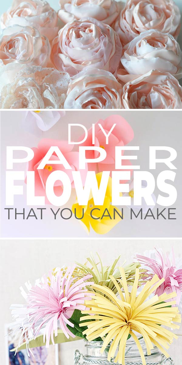 DIY Paper Flowers You Can Make