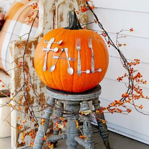 Fall Pumpkins : Decorating Ideas with Pumpkins and Gourds