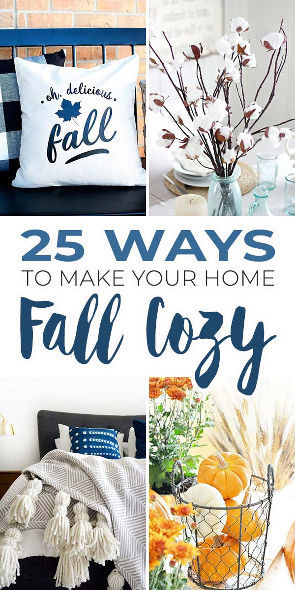 Fall Decorating Ideas: 25 Ways to Make Your Home Fall Cozy