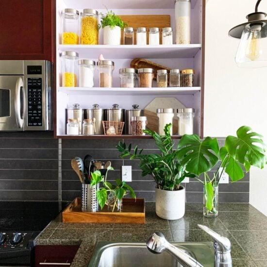 Easy One Day DIY Kitchen Update & Remodel Ideas