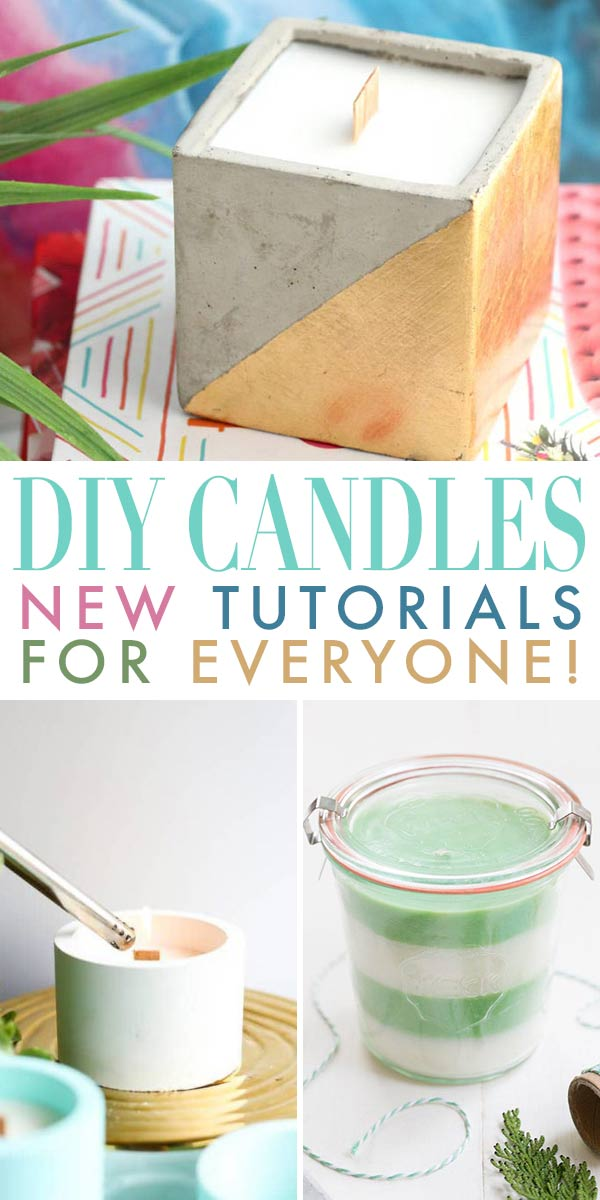 DIY Candles - Candle Making Tutorials For Everyone!