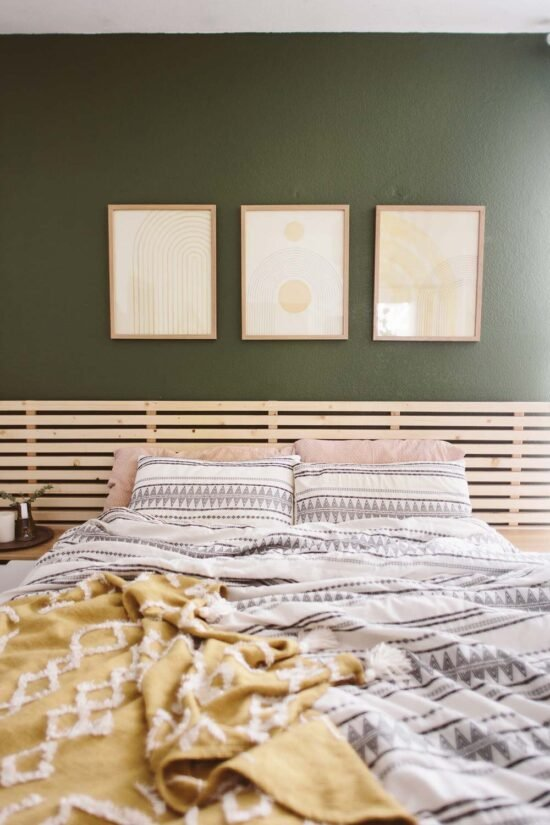 10 Easy DIY Headboard Ideas You Can Make