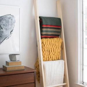 Easy DIY Blanket Ladders for Every Style Home