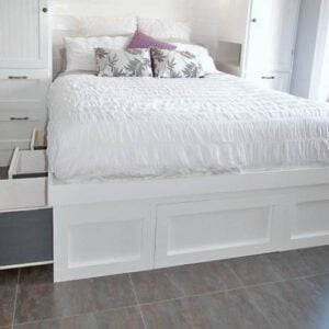 DIY Storage Bed Projects