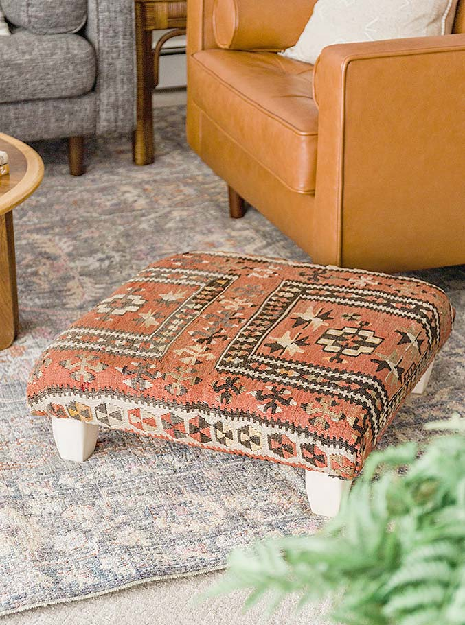 10 Awesome DIY Ottoman Ideas & Projects