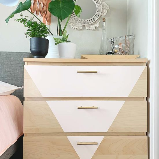 Trendy DIY Dresser Makeover with Our Homemade Chalk Paint Recipe!