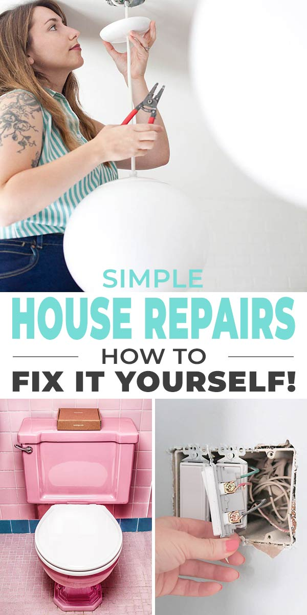 Quick & Simple House Repairs - How to Fix It Yourself!
