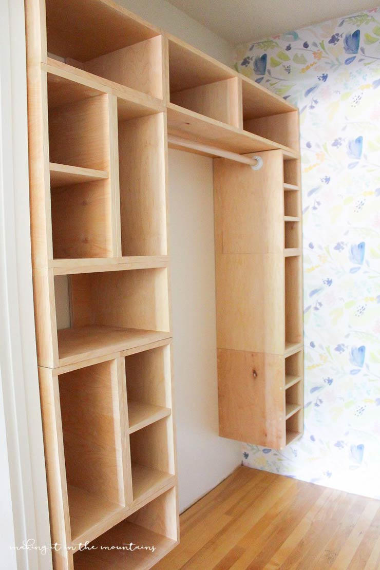 8 Gorgeous DIY Closet Organizer Plans (To Build From ...