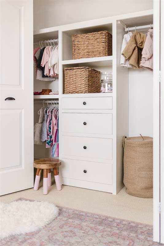 8 Gorgeous Diy Closet Organizer Plans To Build From Scratch The Budget Decorator