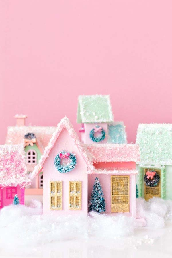 Magical Christmas Village Ideas You Can DIY