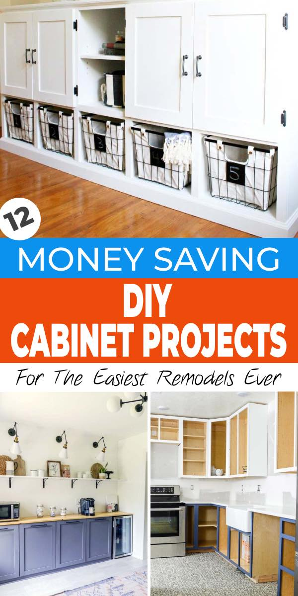 12 Money Saving Diy Cabinets For The, Kitchen Cabinets Plans Free