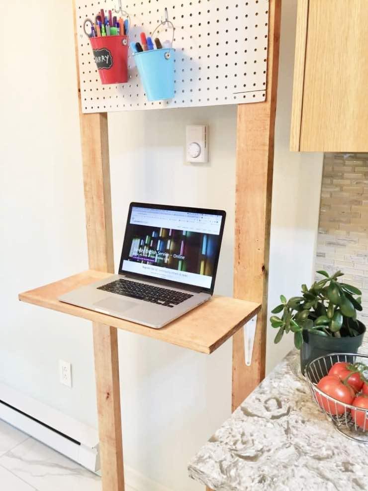 DIY Standing Desk Plans